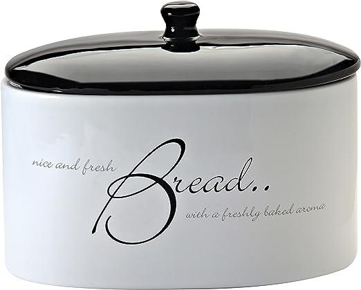Amazon.com: Price & Kensington Script White Breadcrock ...