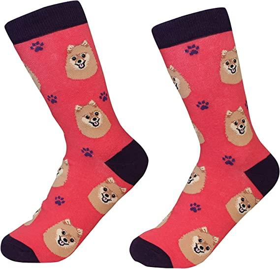E /& S PETS SOCK DADDY ANIMAL SOCKS UNISEX MANY BREEDS OF DOGS AND CATS