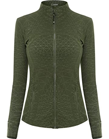 e2f4435e5c1 Queenie Ke Women s Sports Define Jacket Slim Fit And Cottony-Soft Handfeel