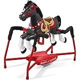 "Radio Flyer Duke Interactive Riding Horse, Black, 36 x 41 x 21"""