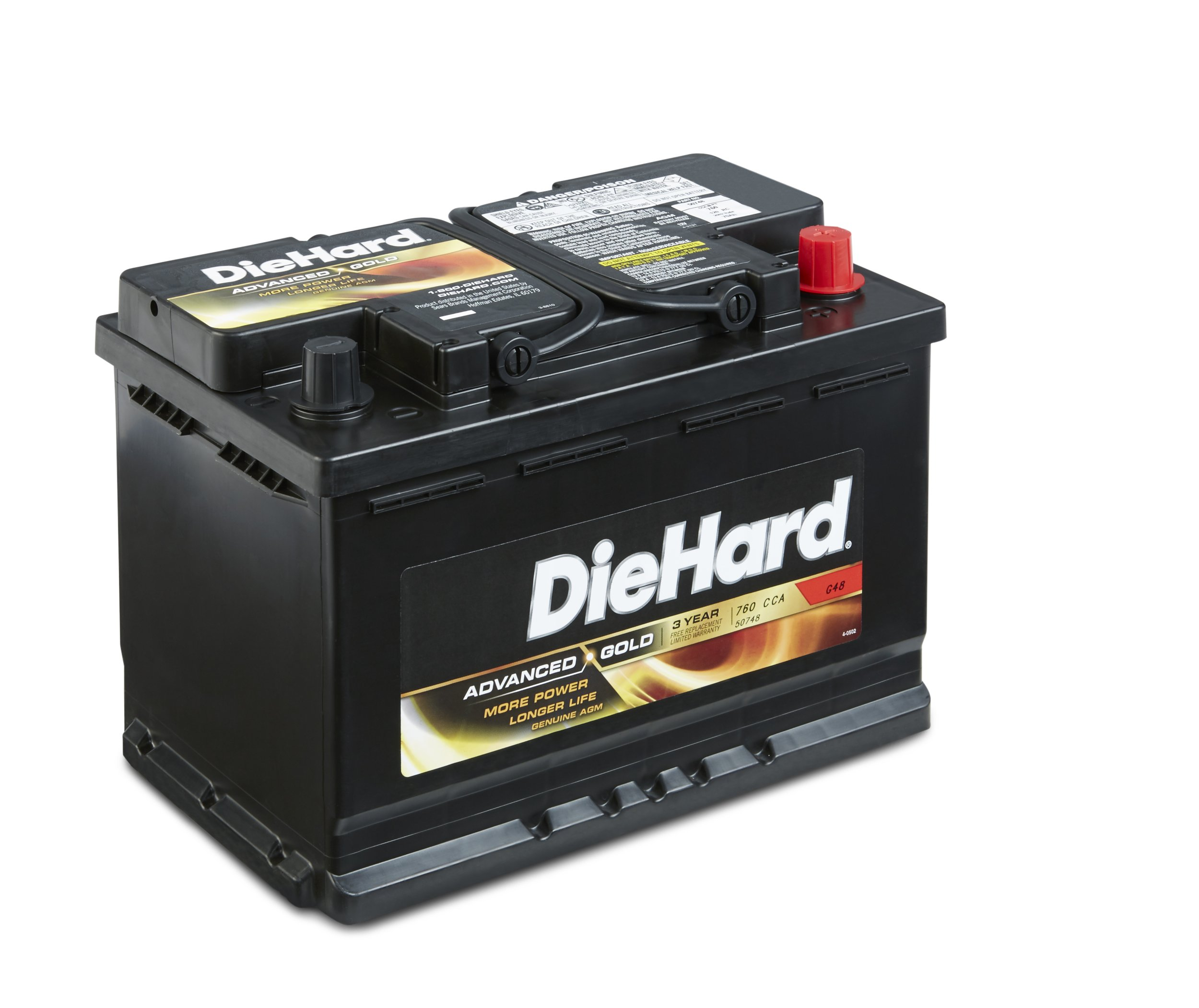 DieHard 38228 Advanced Gold AGM Battery (GP 48)