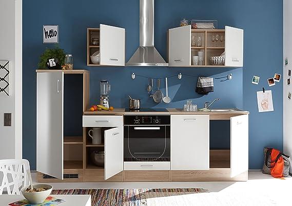 moebel-guenstig24.de Küche Andy Küchenblock Küchenzeile ...