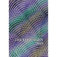 Die Losungen 2019. Deutschland / Losungen 2019: Geschenk-Grossdruckausgabe (Deutschland)