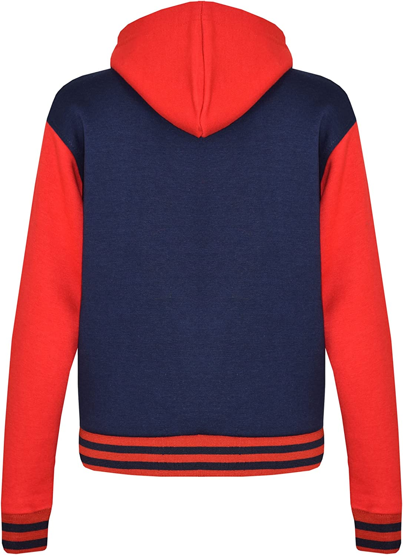 A2Z 4 Kids/® Kids Girls Boys Baseball Tracksuit NYC FOX Jacket /& Trouser Sports Hoodie Bottom Joggers Age 2-13 Years