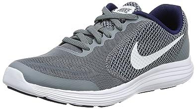 Nike Damen Revolution 3 Laufschuhe, Grau, 38.5 EU