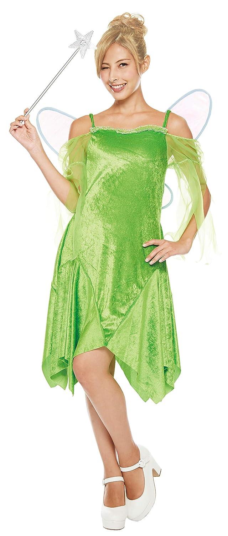 Disney Peter Pan Campanilla traje de las señoras de 155cm-165cm 802536: Amazon.es: Juguetes y juegos