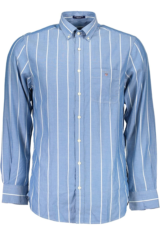 6b2149650bb Gant Men's Spinnaker Oxford Stripe Long Sleeve Casual Shirt: Amazon.co.uk:  Clothing