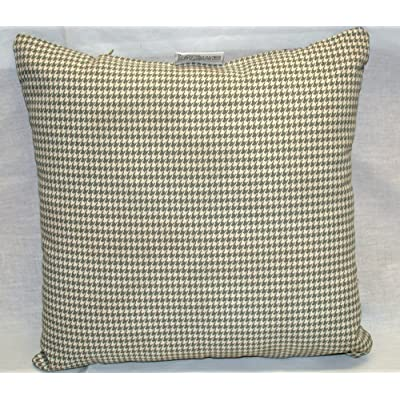 Buffaloe Creek Sales OVERSTOCK BLOWOUT! Pack of 5 Patio Houndstooth Pillows ~ Spa & Cream 14 x 14 x 6 : Garden & Outdoor