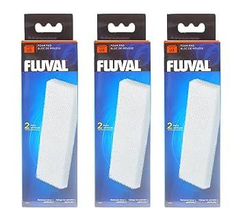 Filtro Fluval U3 almohadillas de espuma, 3 x 2 pack: Amazon.es: Productos para mascotas