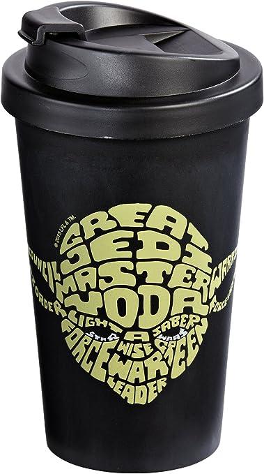 Star Wars 12275 Yoda - Vaso térmico para el café (Doble ...