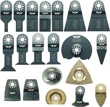 Einhell Milwaukee Ryobi Makita Multitalent Ergotools Worx. 68 herramientas cuchilla UNK68SK para Bosch Parkside Hitachi Fein Multimaster