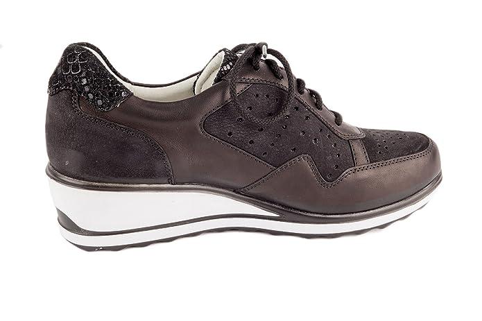 Romika Damen Kingston Keil Sneaker Low Schwarz Gr. 37: Amazon.de: Schuhe &  Handtaschen