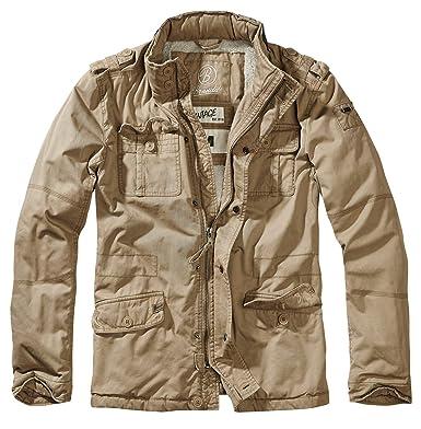 7cdc78c547181 Brandit Britannia Winter Jacket (Camel, X-Large) at Amazon Men's Clothing  store: