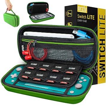 Orzly Funda para Nintendo Switch Lite – Estuche Protector rigida ...