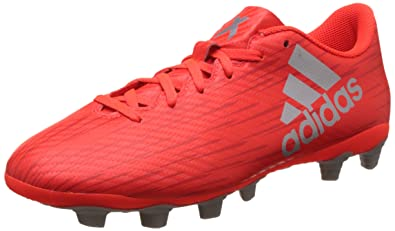 adidas Messi 16.4 FxG, Chaussures de Football Homme, Rouge (Red/cblack/ftwwht), 42 2/3 EU