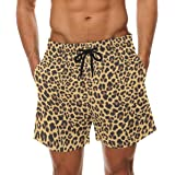 LORVIES Mens Cats and Hearts Beach Board Shorts Quick Dry Swim Trunk