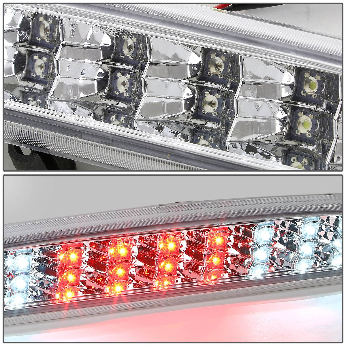 DNA Motoring 3BL-DRAM94-LED-BK Third Brake Light