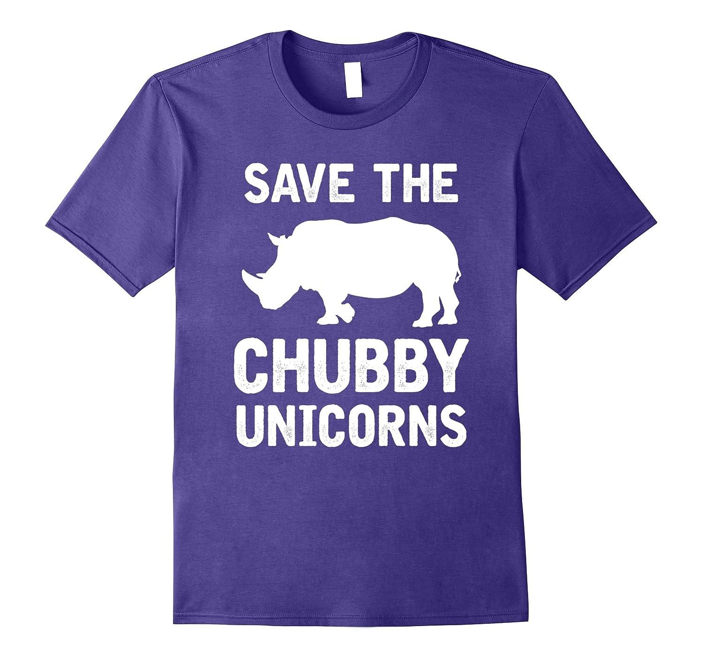 Rhino save the chubby unicorn t shirt-Teevkd