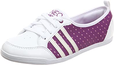 adidas se daily qt neo damen sneaker schuh grau rosa