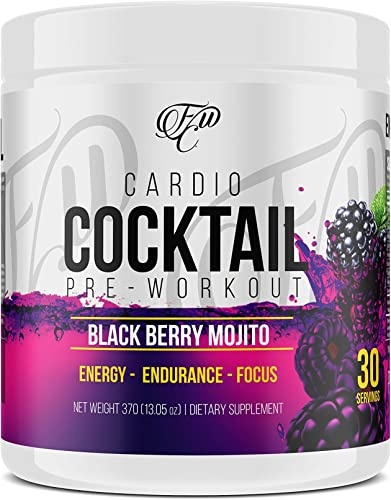 Cardio Cocktail Pre-Workout Increases Endurance and Energy, Enhances Intense Cardio or Weight Training. Get leaner, Faster. Boosts Mental Focus