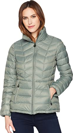 eddfadbbe6bf MICHAEL Michael Kors Womens Short Quilted Packable Down at Amazon Women s  Coats Shop