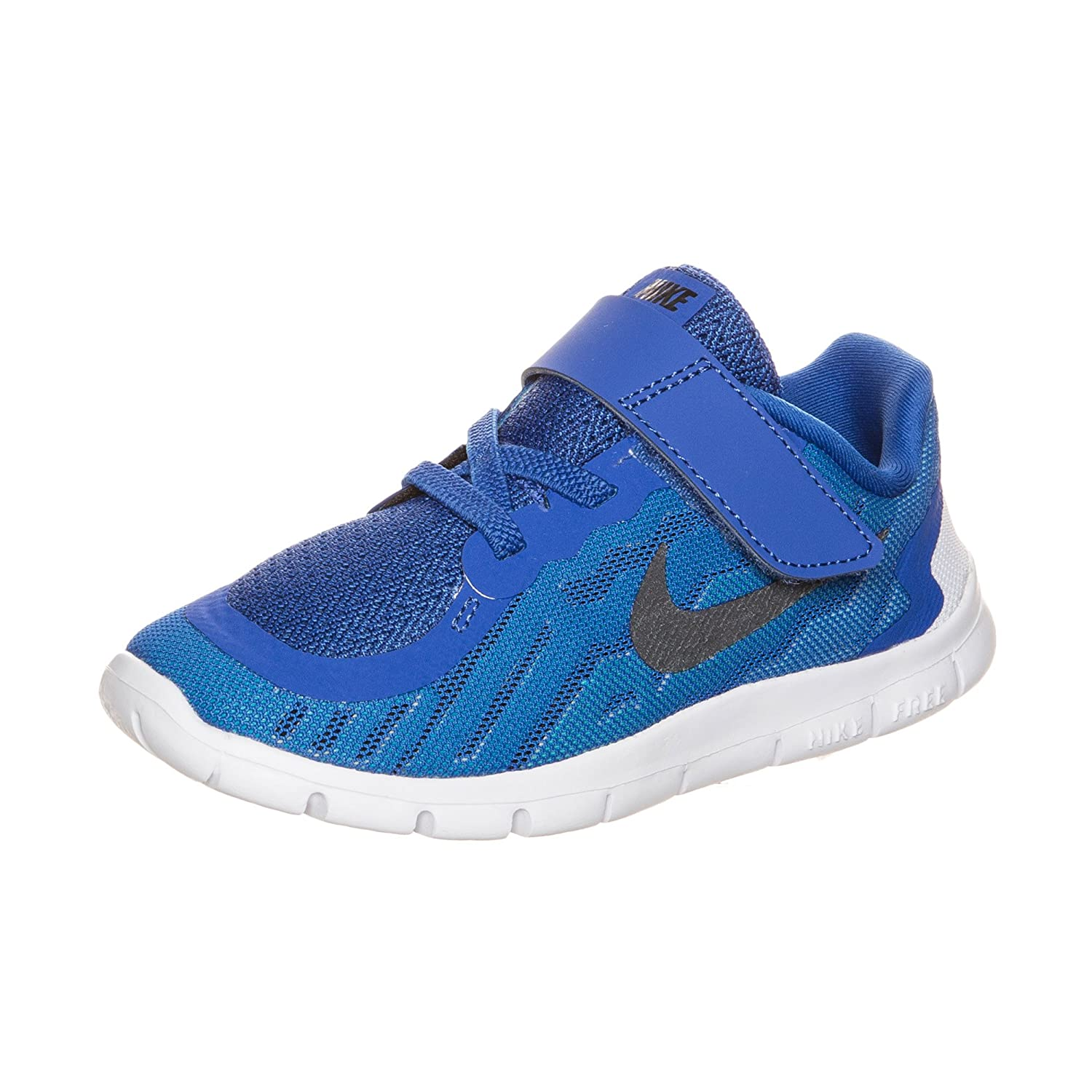 new product caf09 9dd7c Amazon.com | Nike Free 5.0 Toddler Boys Shoe Game Royal/Neo ...
