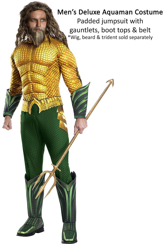 Rubies - Disfraz Oficial de DC Aquaman The Movie, para Adulto, Talla XL