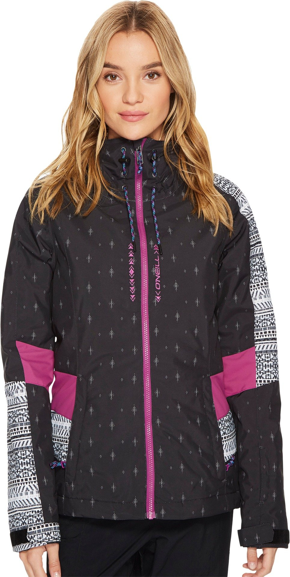 O'Neill Women's Reunion Jacket, Hollyhock, Large
