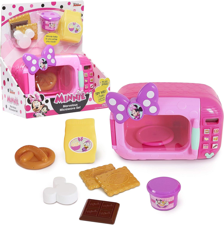 Amazon Com Minnie Mouse Marvelous Microwave Set Toys Games