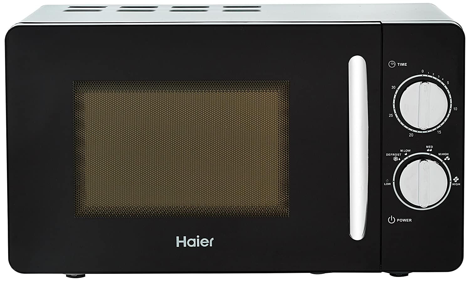 Haier 20 L Solo Microwave Oven (HIL2001MBPH, Black): Amazon.in: Home &  Kitchen