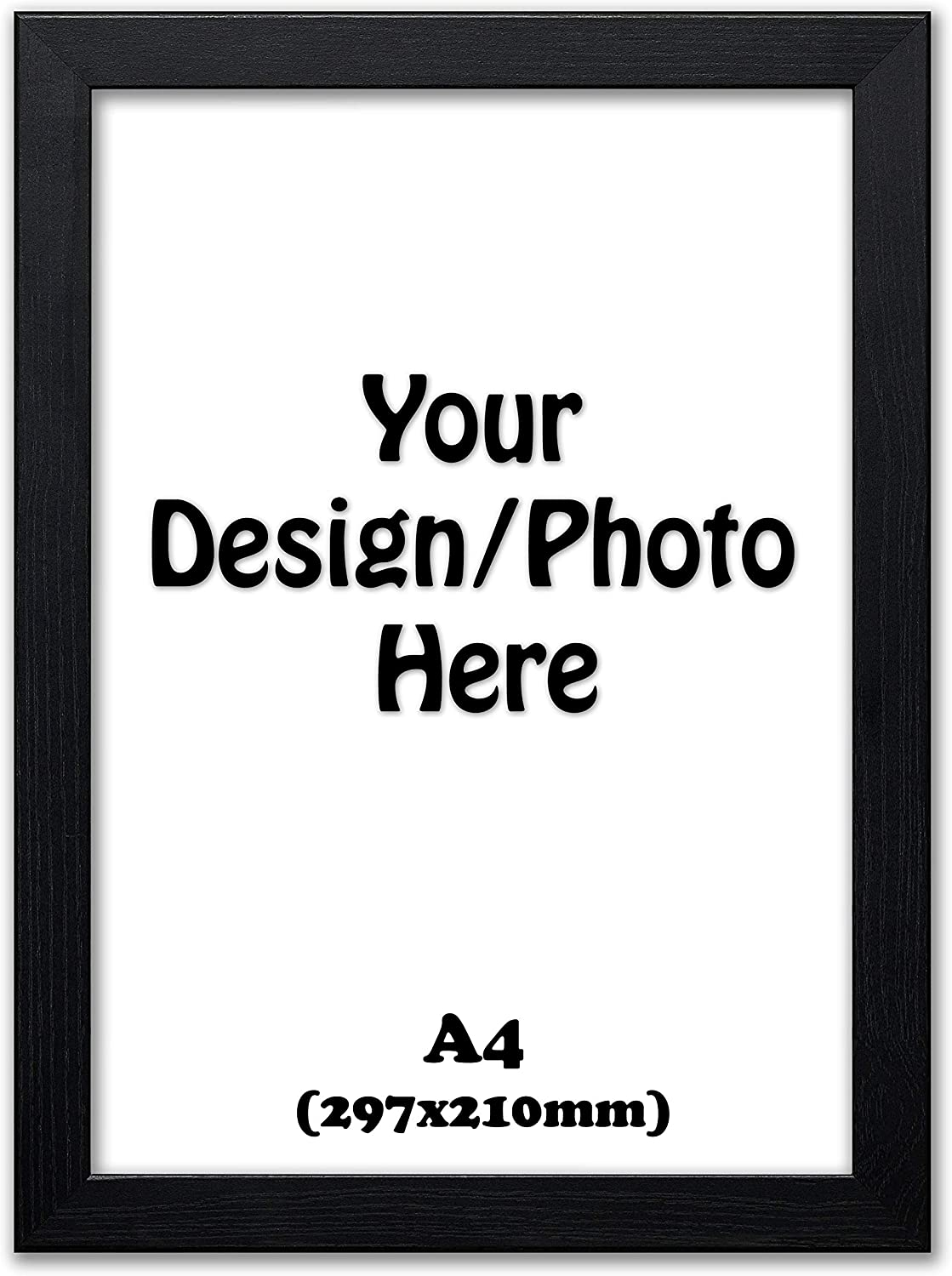 Wooden Picture Frame Photo Poster Wall Decor Collage Hanging Frames A1 A2 A3 A4 A1-840x594mm