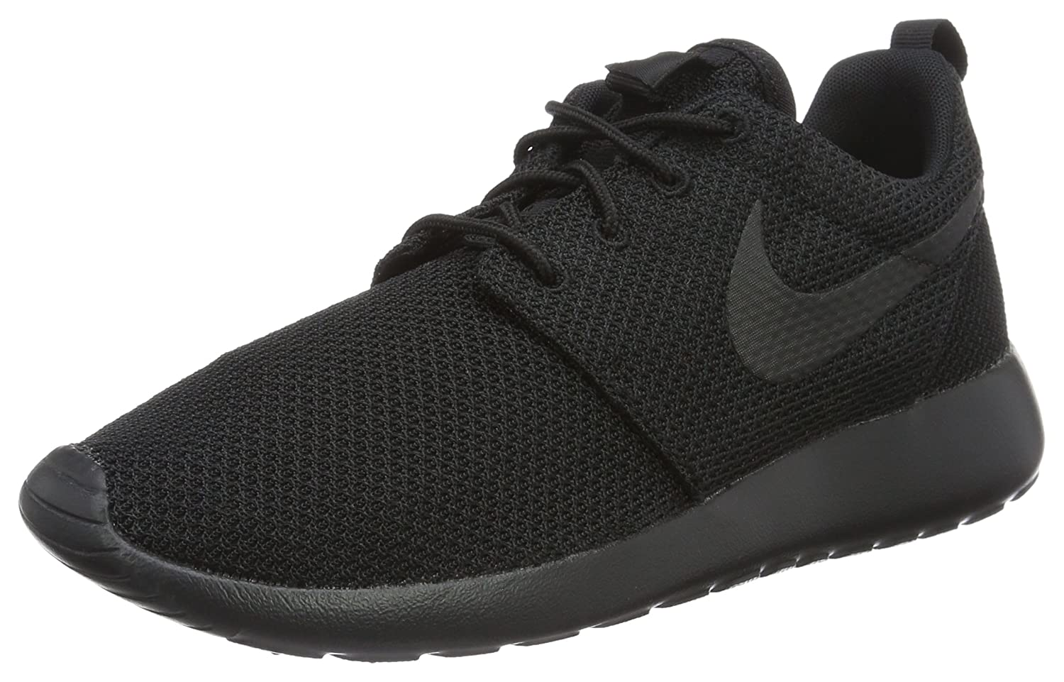 all black nike roshe men's shoes