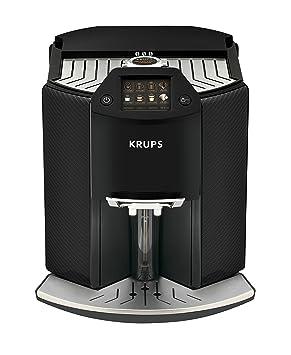 Krups - Cafetera automática Barista New Age de One Touch capuchino, coloreado, pantalla táctil, 1.6 L, carbon: Amazon.es: Hogar