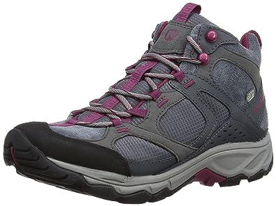 Merrell - Daria Mid - Bottes de randonnée imperméables pour femmes Gris B13pDuHh