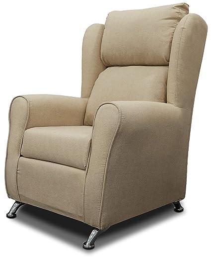 Miroytengo Sofá Individual Salon sillón Dormitorio Color ...