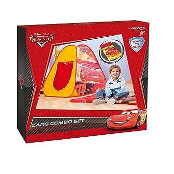 John 72563 Cars - Tienda de campaña para juegos y saco de dormir infantil: Amazon.es: Juguetes y juegos