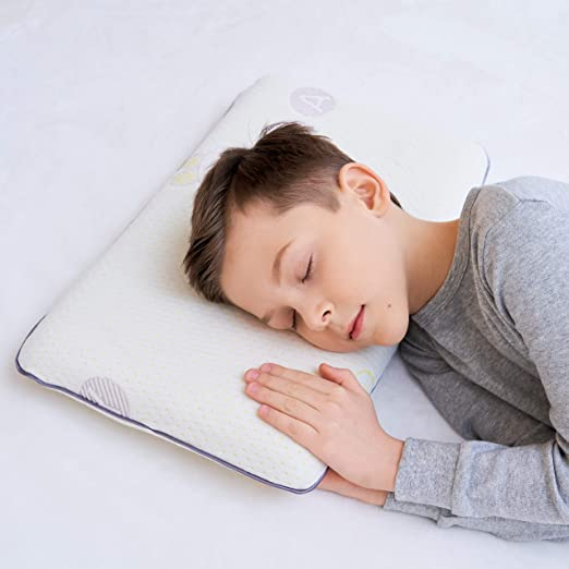 SIKAINI Almohada Infantil Almohada Infantil de Espuma viscoelástica Almohada Infantil Almohada Infantil (4 12 años)