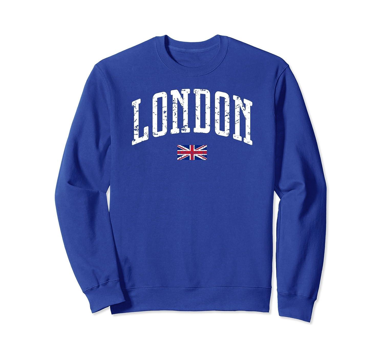 London Flag Vintage City Sweatshirt Sdu