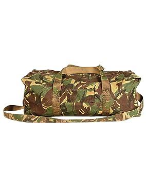 GENUINE DUTCH ARMY DPM CAMO HOLDALL BAG WITH SHOULDER STRAPS GRADE 1 ... a9e01c7a6ebda
