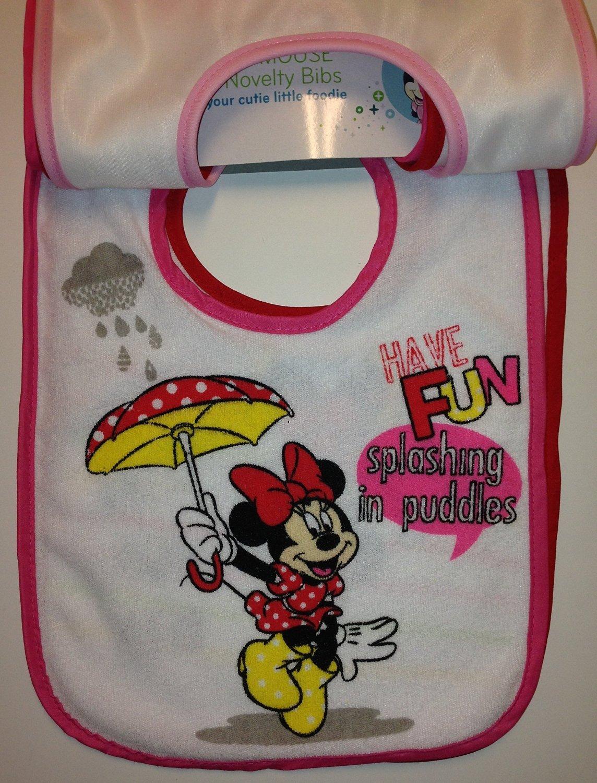 Amazon.com: Disney Minnie Mouse 5 piezas novedad baberos: Baby