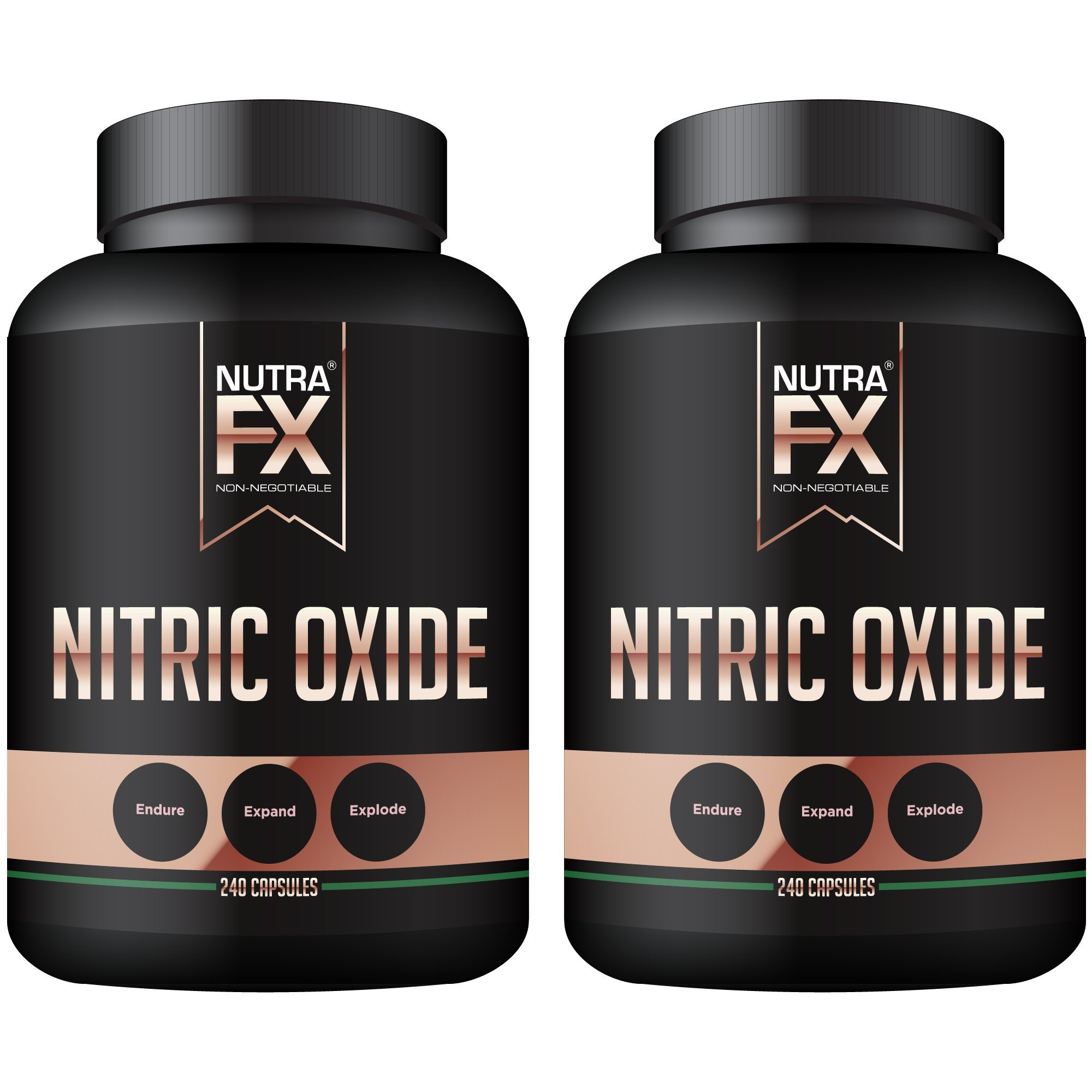 NutraFX Nitric Oxide Booster Capsules (2-Pack)
