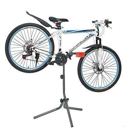 Haus] Soporte de Bicicleta para reparación - Gris Rojo - Marco de