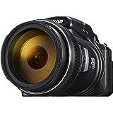 Nikon Coolpix P1000 digitalkamera (16 megapixel, 125 fack optisk megazoom, 3,2 tum RGBW-skärm, 4K UHD-video, WI-Fi)