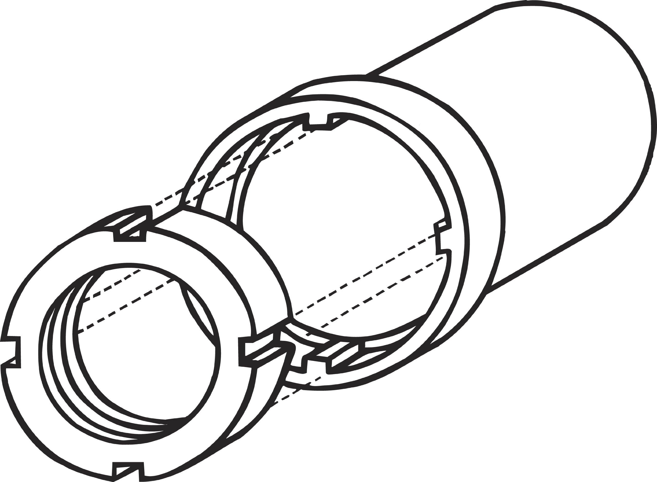 Lisle 29900 4 Wheel Drive Bearing Lock-Nut Tool