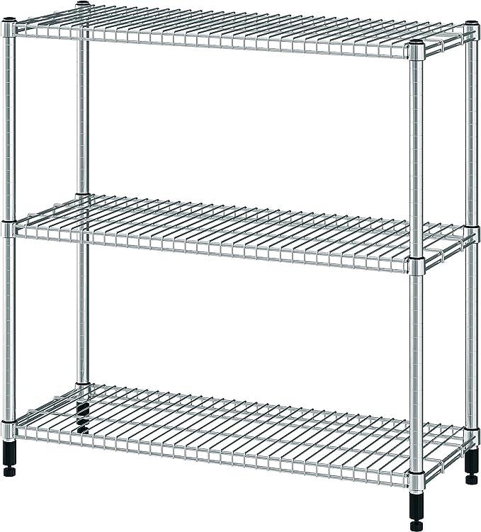 Ikea Omar - Estantería (galvanizada, 100.697.63, tamaño 36, 1 ...