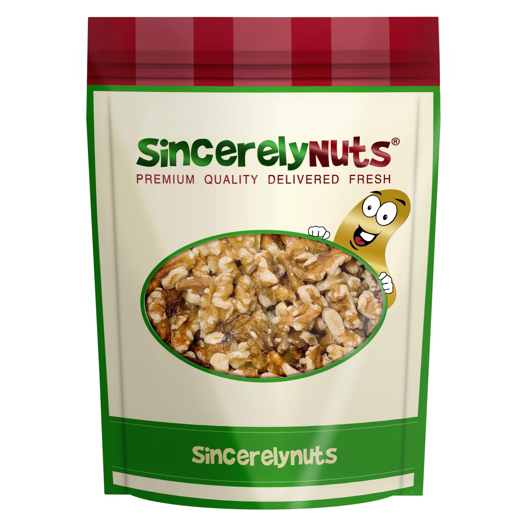 Sincerely Nuts Raw Walnuts Halves & Pieces 2 Lb