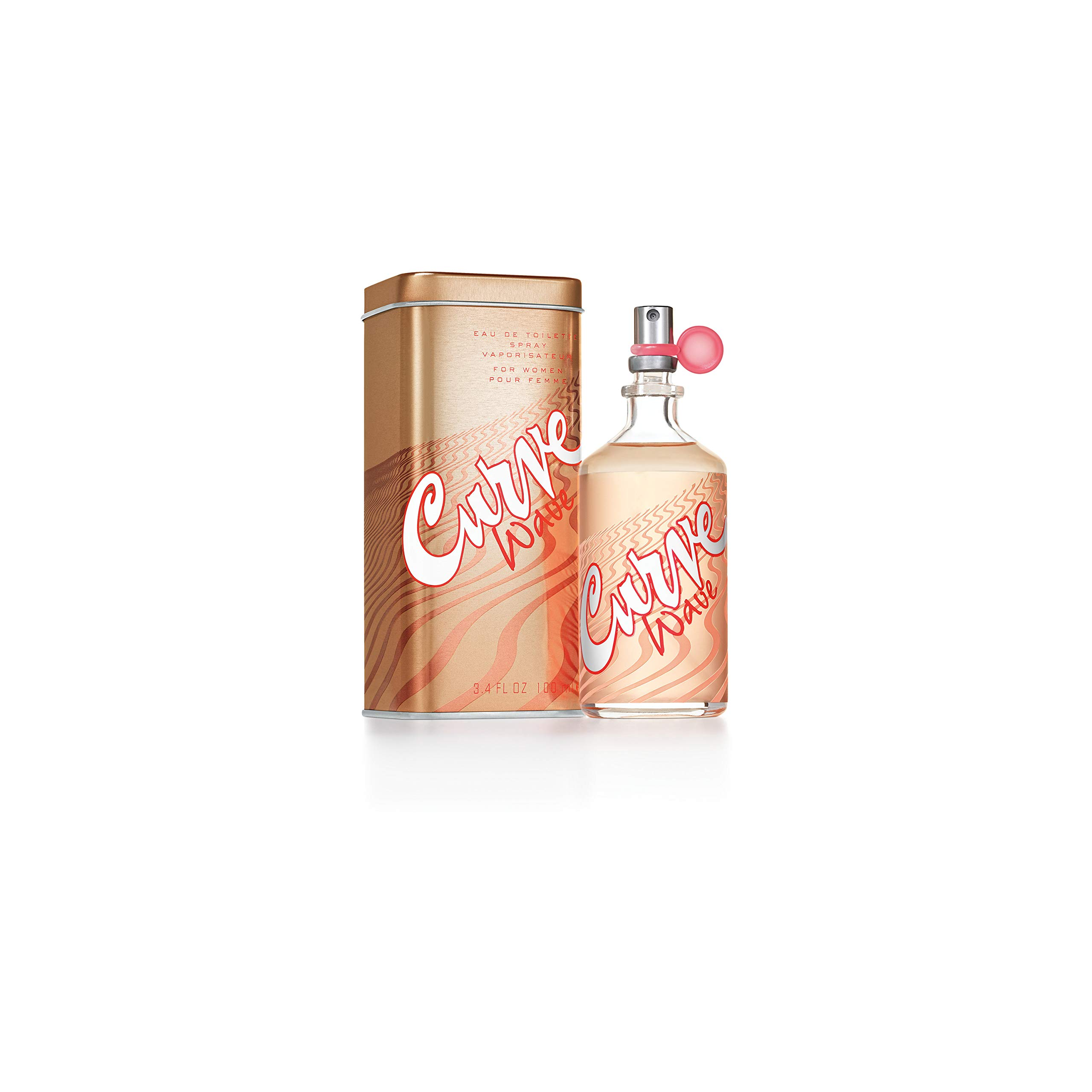 Curve Wave for Women Eau De Toilette Spray, 3.4 Fl. Oz. by Curve