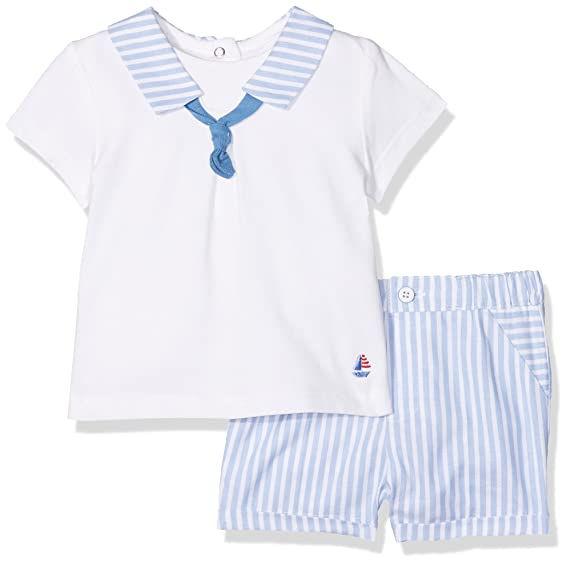 d847d482c Mayoral Baby Boys' 1206 Clothing Set, Blue (Sea 54), One (Manufacterer  Size:0-1): Amazon.co.uk: Clothing