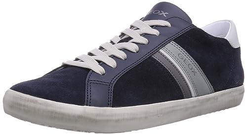 Geox U Smart, Zapatillas de Deporte para Hombre, DK Navy, 43 EU: Amazon.es: Zapatos y complementos