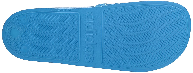Adidas - 38.5 Adilette, Dusche Herren, Blau (Bright Blau/Weiß/Bright Blau), 38.5 - EU D(M) - f3781b